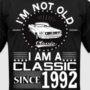 Classic since 1992 T-Shirts - Men's T-Shirt by American Apparel