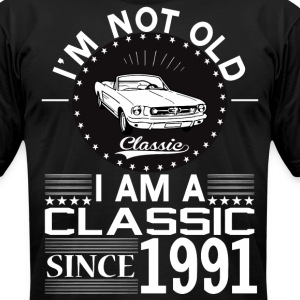 Classic since 1991 T-Shirts - Men's T-Shirt by American Apparel