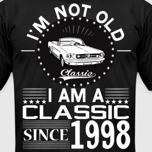 Classic since 1998 T-Shirts - Men's T-Shirt by American Apparel