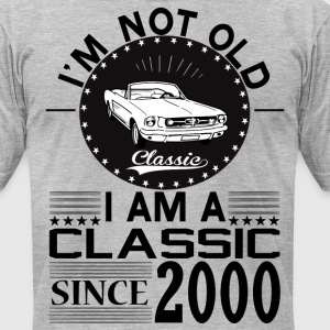 Classic since 2000 T-Shirts - Men's T-Shirt by American Apparel