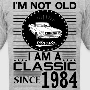 Classic since 1984 T-Shirts - Men's T-Shirt by American Apparel