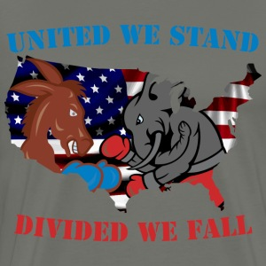 United We Stand - Divided We Fall - Men's Premium T-Shirt