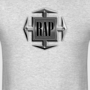 Vintage Rap Cross - Men's T-Shirt
