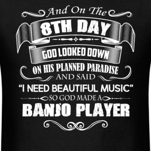 Banjo Player Shirts - Men's T-Shirt