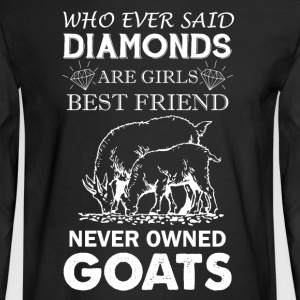 Goats Shirt - Men's Long Sleeve T-Shirt
