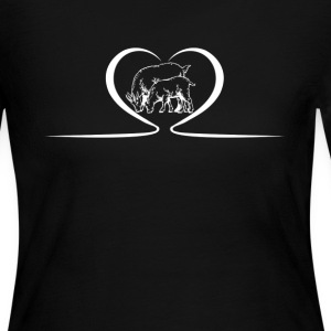 Goat Heart Shirts - Women's Long Sleeve Jersey T-Shirt