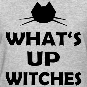 Halloween What's Up Witches Statement - Women's T-Shirt