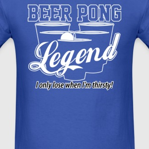 BEER PONG LEGEND - Men's T-Shirt