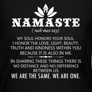 Namaste Shirts - Women's Long Sleeve Jersey T-Shirt