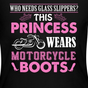 Motorcycle Boots Shirt - Women's Long Sleeve Jersey T-Shirt