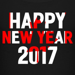 Happy New Year 2017 Red white - Kids' Premium T-Shirt
