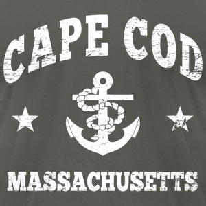 Cape Cod Massachusetts T-Shirts - Men's T-Shirt by American Apparel