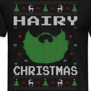 Hairy Christmas - Men's Premium T-Shirt