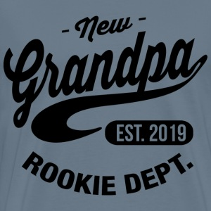 New Grandpa 2019 T-Shirts - Men's Premium T-Shirt