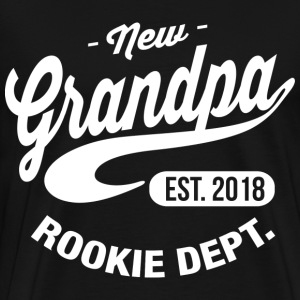 New Grandpa 2018 T-Shirts - Men's Premium T-Shirt