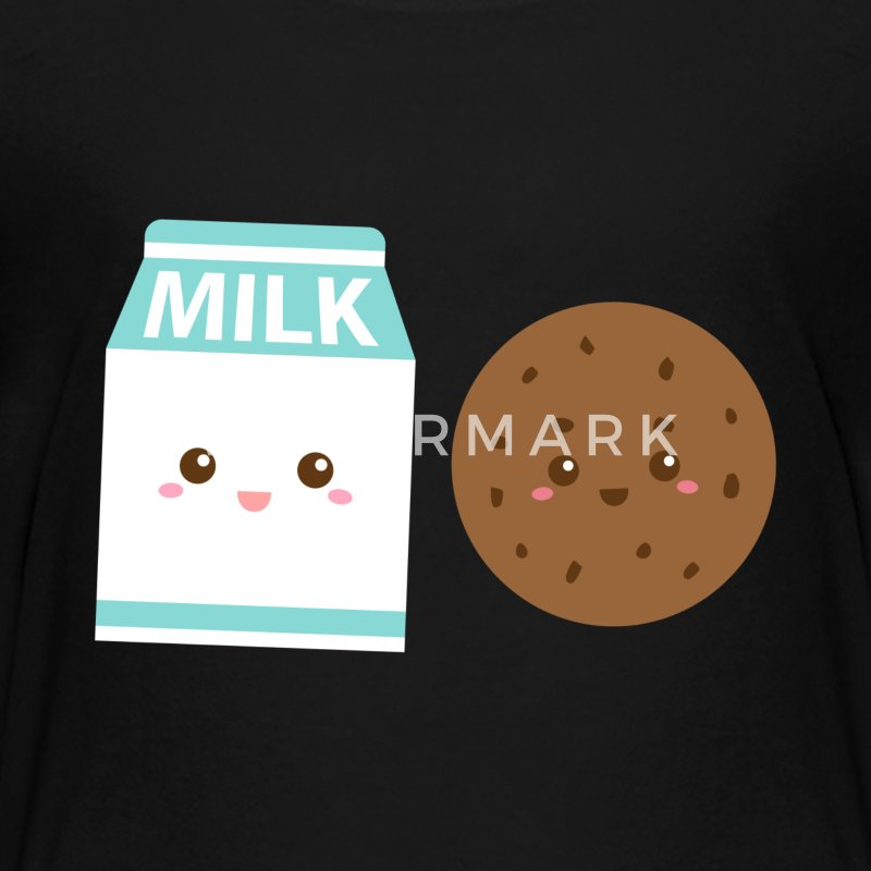 Cute Milk and Cookies BFF - Kids' Premium T-Shirt