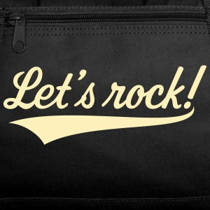 Let's Rock! (Rock 'n' Roll Music) Sportswear - Duffel Bag