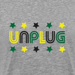 DDJ UNPLUG (Jamaica) - Men's Premium T-Shirt