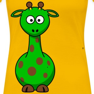 GREEN giraffe - Women's Premium T-Shirt