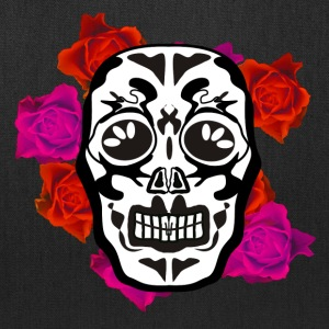 mexican skull flowers Bags & backpacks - Tote Bag