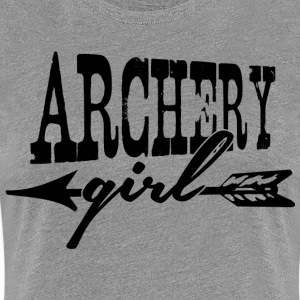 Archery Girl Shirts - Women's Premium T-Shirt