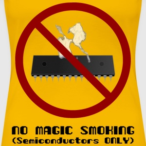 No Magic Smoking - Women's Premium T-Shirt
