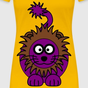 Purple Lion - Women's Premium T-Shirt
