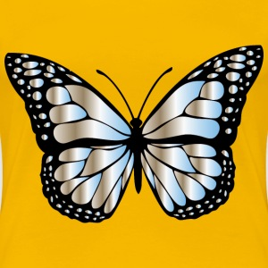 Monarch Butterfly 2 Variation 10 - Women's Premium T-Shirt