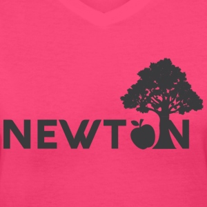 Newton - Women's V-Neck T-Shirt
