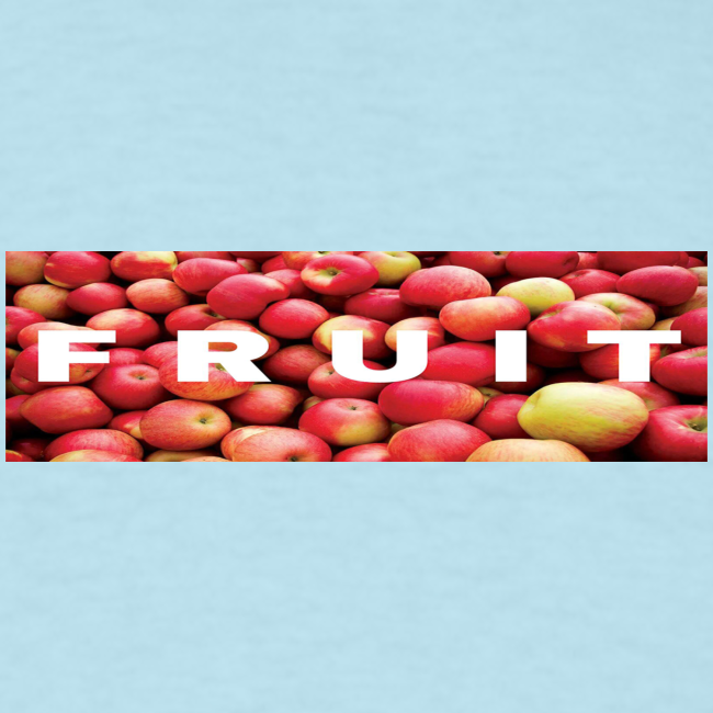 FRUIT Apple Box Logo (Black)