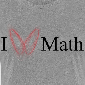 I Lorenz attract Math - Women's Premium T-Shirt