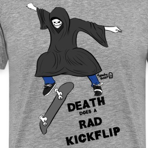 Death Does A Rad Kickflip - Men's Premium T-Shirt
