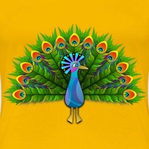 Peacock - Women's Premium T-Shirt