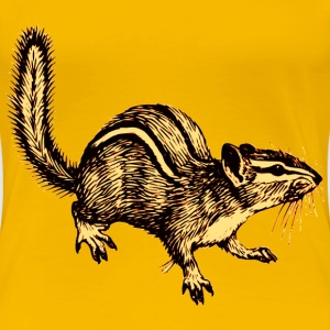 Chipmunk - Women's Premium T-Shirt