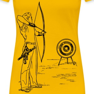 Archery - Women's Premium T-Shirt