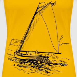 Sailboat 2 - Women's Premium T-Shirt
