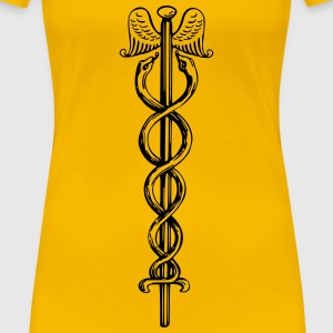 Caduceus - Women's Premium T-Shirt