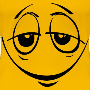 Stoned Smiley Face - Women's Premium T-Shirt