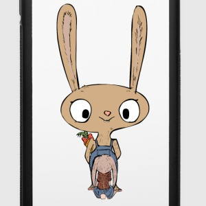 Bunny surprise - iPhone 6/6s Rubber Case