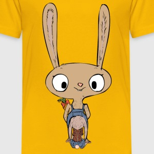 Bunny surprise - Toddler Premium T-Shirt