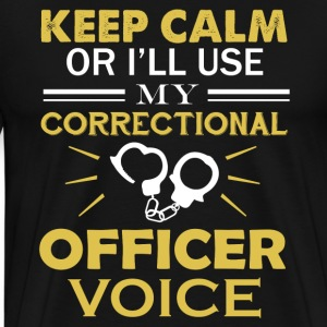 Correctional Officer Voice - Men's Premium T-Shirt