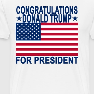 congratulations_donald_trump_for_presideNT - Men's Premium T-Shirt