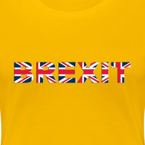 BREXIT No Outline With Shading - Women's Premium T-Shirt