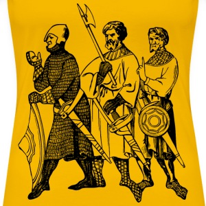 Soldiers from the 13th century - Women's Premium T-Shirt