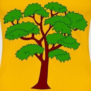 Mahogany tree - Women's Premium T-Shirt