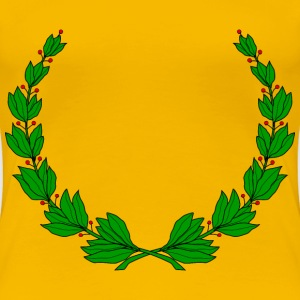 Laurel wreath 3 - Women's Premium T-Shirt