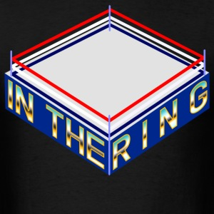 In The Ring Old School Ring - Men's T-Shirt
