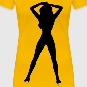 Woman in heels 2 - Women's Premium T-Shirt