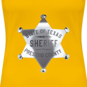 Sheriff badge - Women's Premium T-Shirt