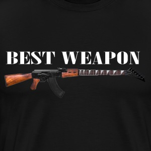 best weapon T-Shirts - Men's Premium T-Shirt